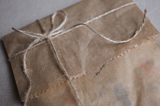 Bag Beige Craft Decorative Eco